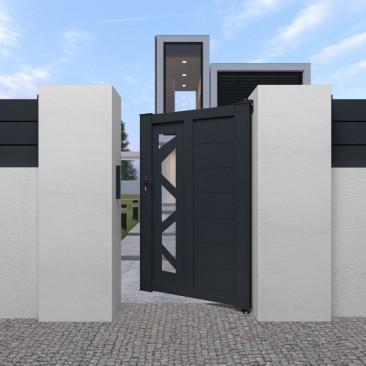 Portão Pedonal Perso+...