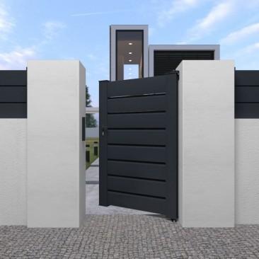 Portão Pedonal Orlando em...