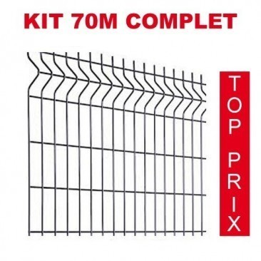 Kit 70m completo para rede...