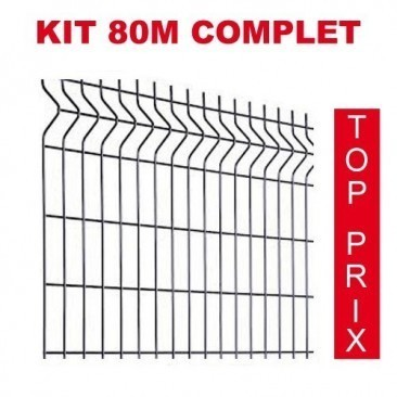 Kit 80m completo para rede...