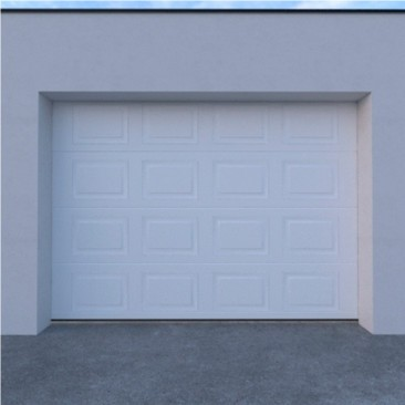 Porte de garagem seccionada...