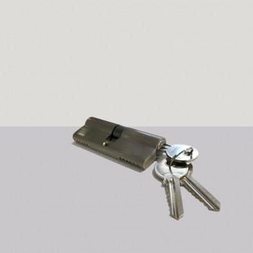 Cilindro europeu 3 chaves