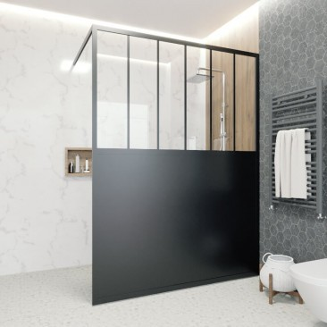 Divisória de duche com base...