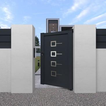 Portão Pedonal Decornox em...