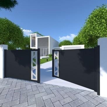 Portão Perso+ batente...