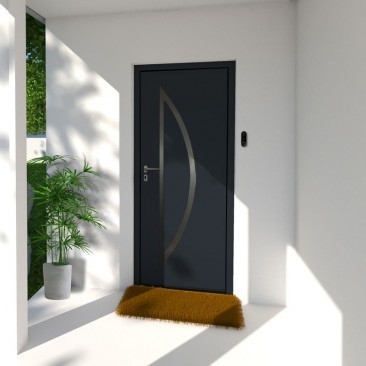 Porta de entrada em Aço Corfou